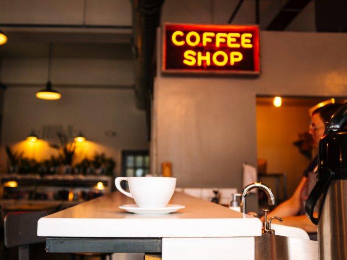 Desain Cafe Kopi Sederhana